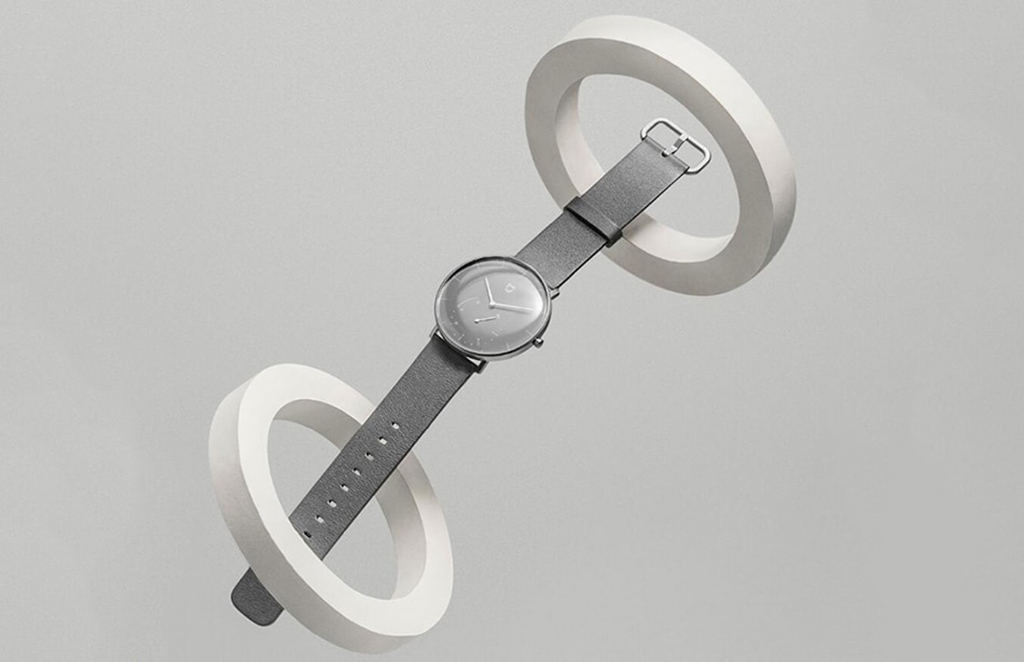 Гибридные смарт-часы Xiaomi Mijia Quartz Watch, Gray5.jpg
