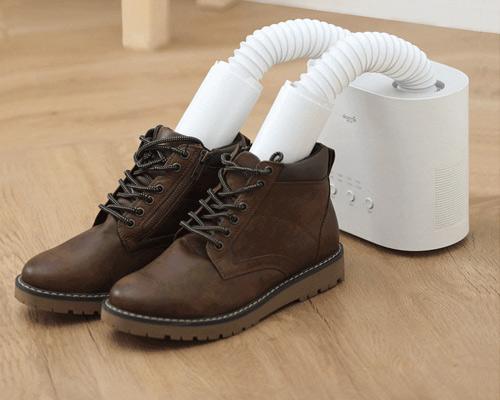 Режим сушки кожаной обуви