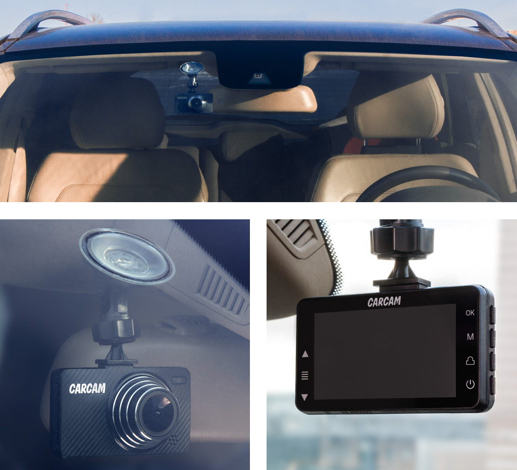 CARCAM D5 — Размещение в автомобиле