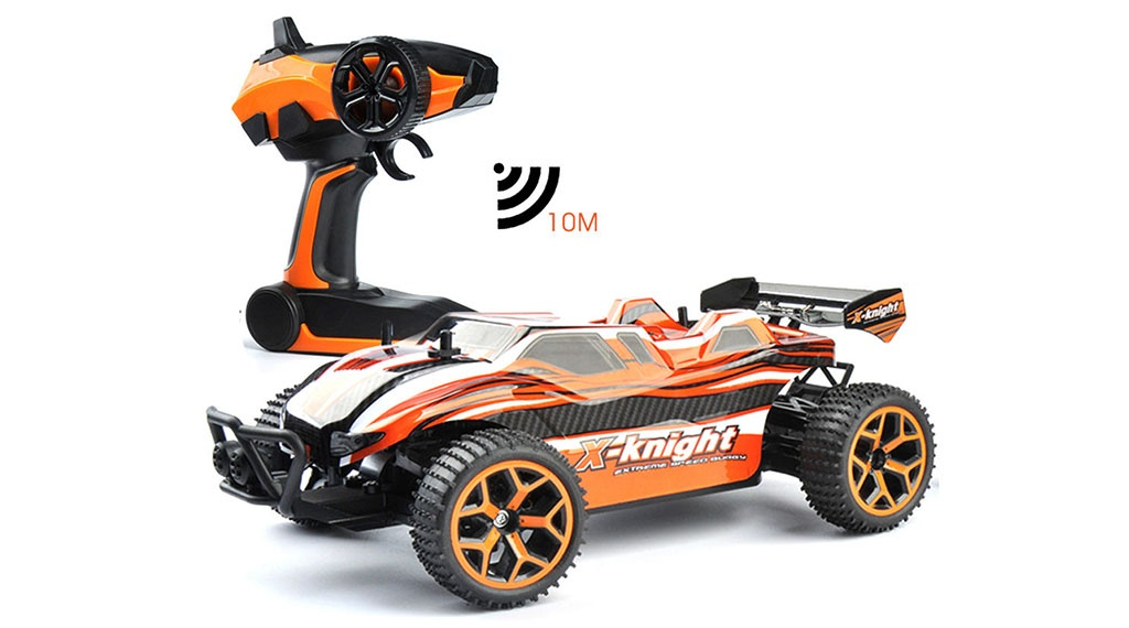 CARCAM 4WD Off-Road Buggy - Red - Радиопульт