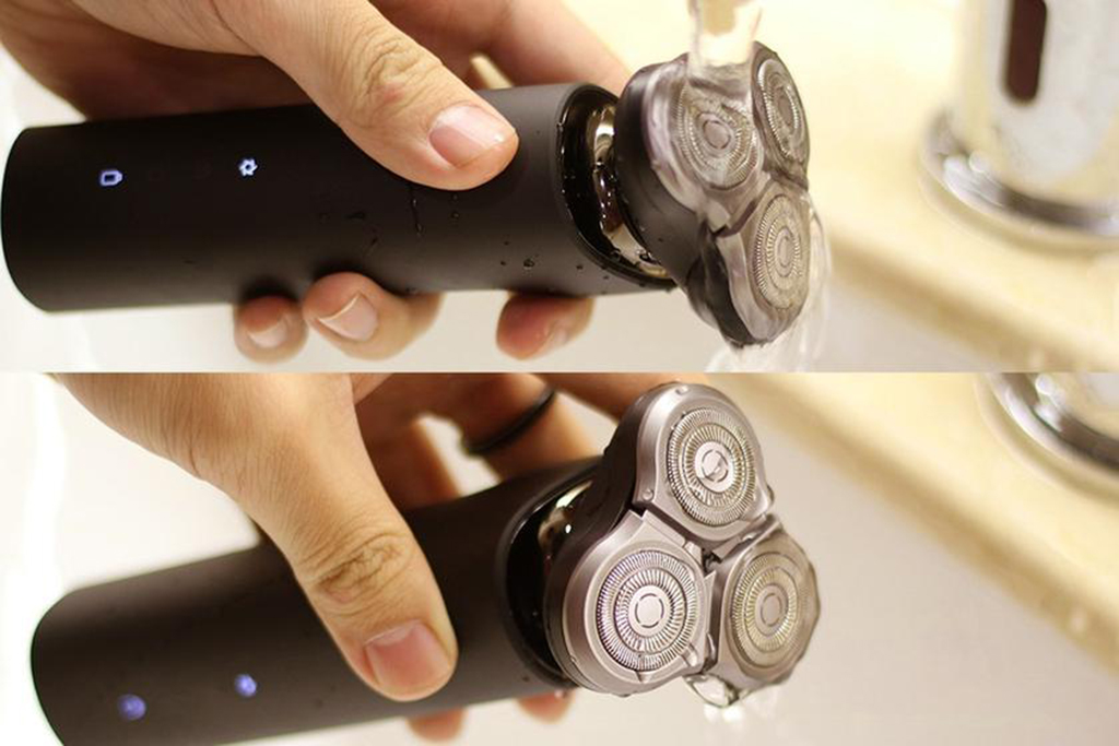Xiaomi Mijia Rotary Electric Shaver – водонепроницаемость
