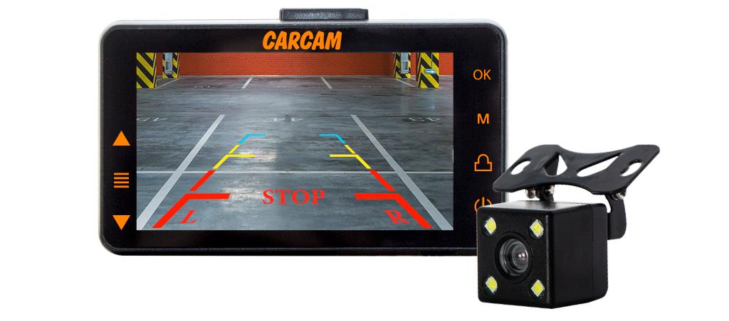 CARCAM D5 Режим парковочной камеры