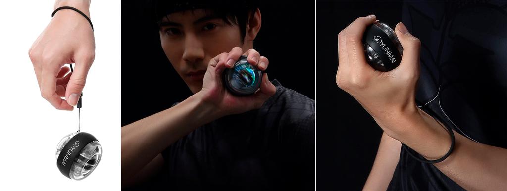 Xiaomi Yunmai Gyroscopic Wrist Trainer полезен для работников офиса и профилактики заболеваний мышц и суставов