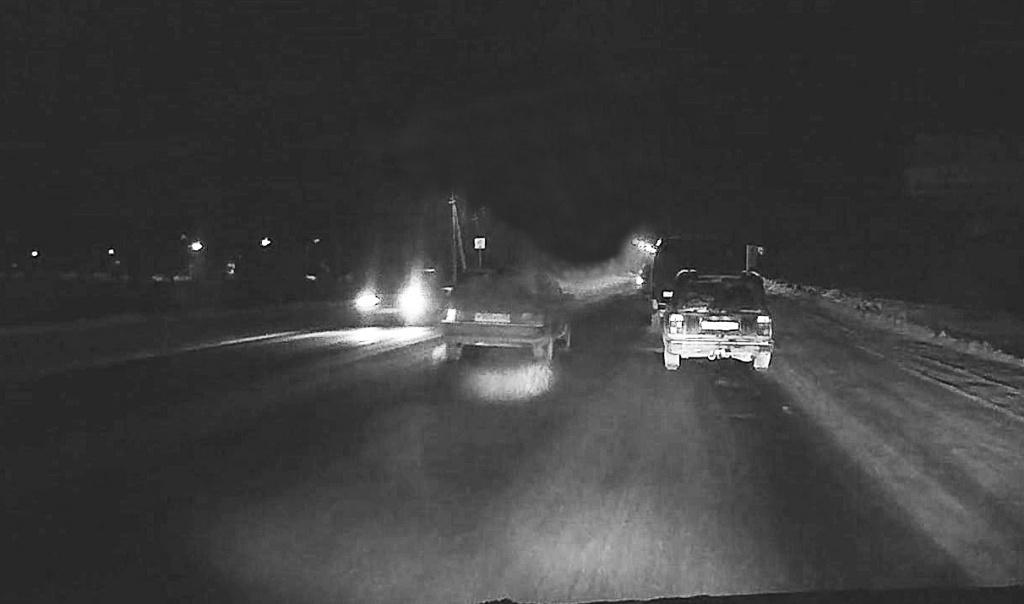 Автомобильный видеорегистратор CARCAM R1 - Ночная съемка