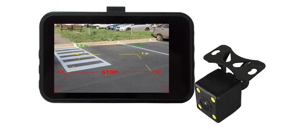 CARCAM F3 - Режим парковочной камеры