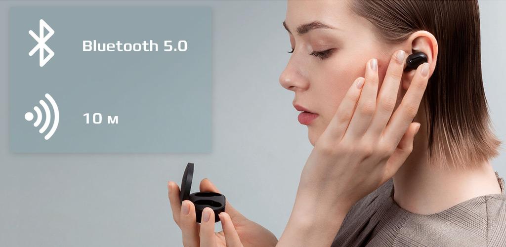 Беспроводные наушники Xiaomi (Mi) Redmi AirDots True Wireless Earbuds Basic - Никаких проводов