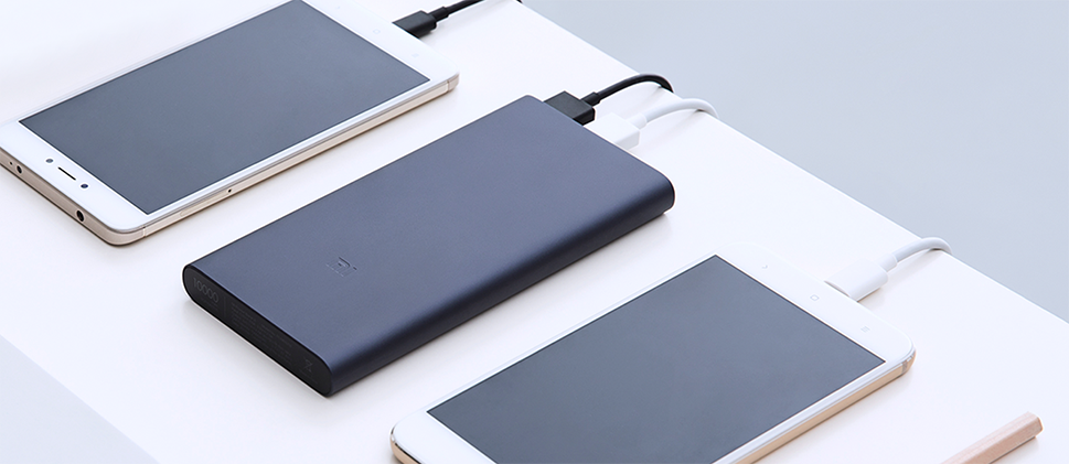 Xiaomi Mi Power Bank 10000mAh – 2 usb