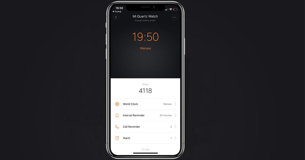 Гибридные смарт-часы Xiaomi Mijia Quartz Watch, Gray10.jpg
