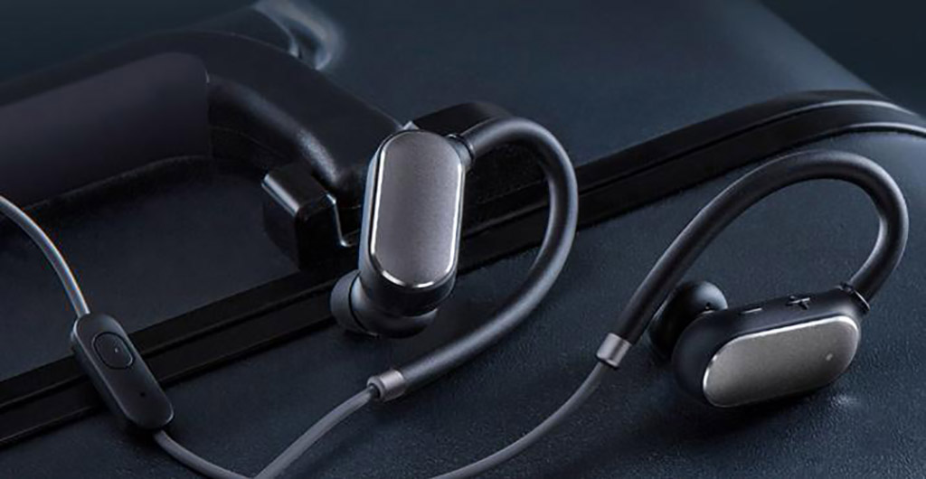 Наушники XIAOMI MI SPORT BLUETOOTH EAR-HOOK BLACK - Гарнитура