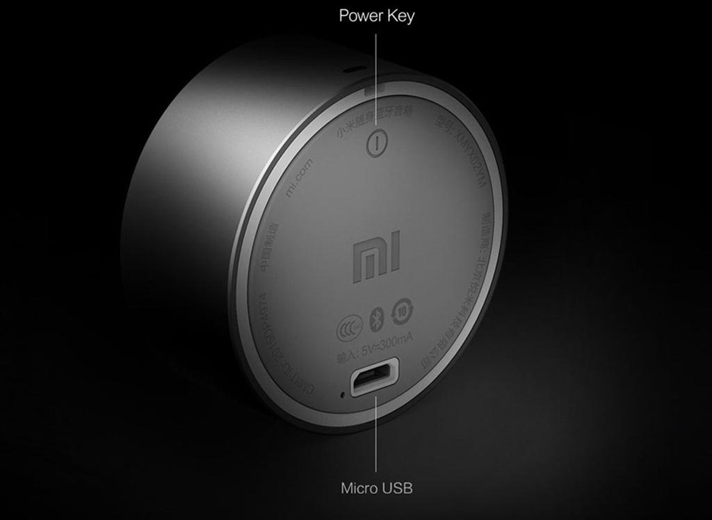 Ультракомпактная колонка Xiaomi Mi Bluetooth Speaker Mini grey - Радиус действия 5 метров