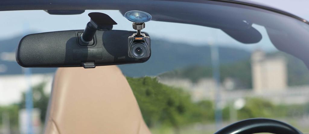 CARCAM R2 - миниатюрный автомобильный Full HD видеорегистратор со встроенными модулями GPS и Wi-Fi
