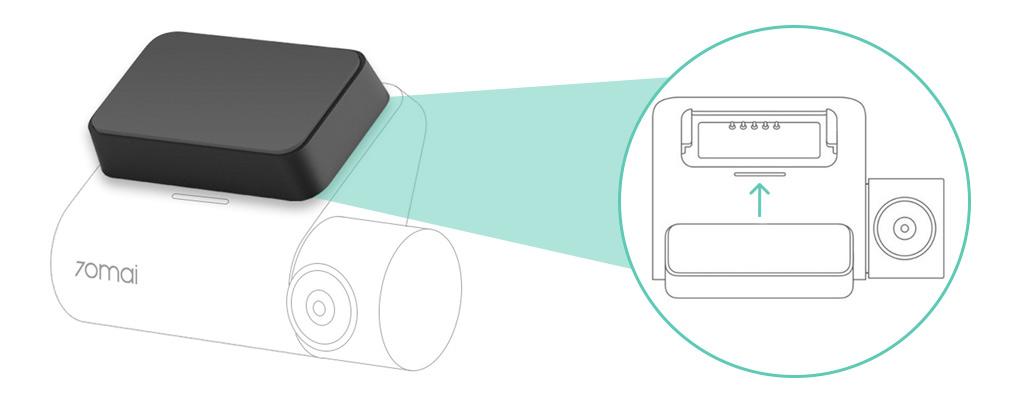 Купить GPS-модуль для 70mai Smart Dash Cam Pro (Midrive D02)