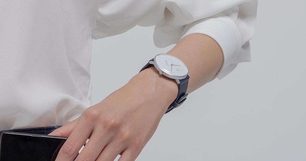 Гибридные смарт-часы Xiaomi Mijia Quartz Watch, Gray8.jpg