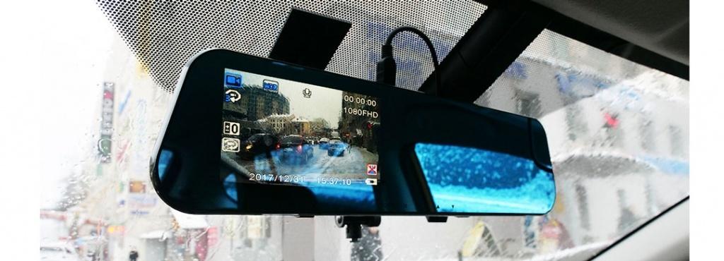 Автомобильный видеорегистратор-зеркало CARCAM Z7 - Full HD 1920x1080p