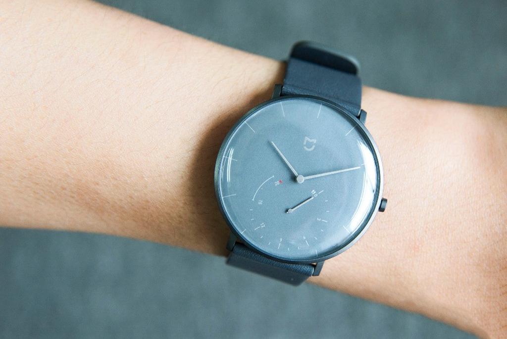 Гибридные смарт-часы Xiaomi Mijia Quartz Watch, Gray6.jpg