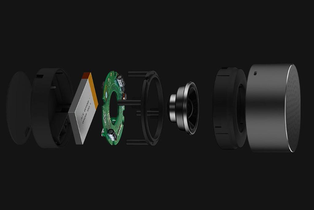 Ультракомпактная колонка Xiaomi Mi Bluetooth Speaker Mini grey - 4 часа автономной работы