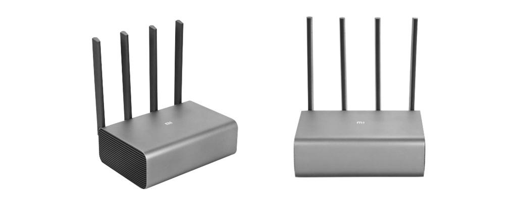 Wi-Fi роутер Xiaomi Mi Wi-Fi Router Pro - Алюминиевый корпус