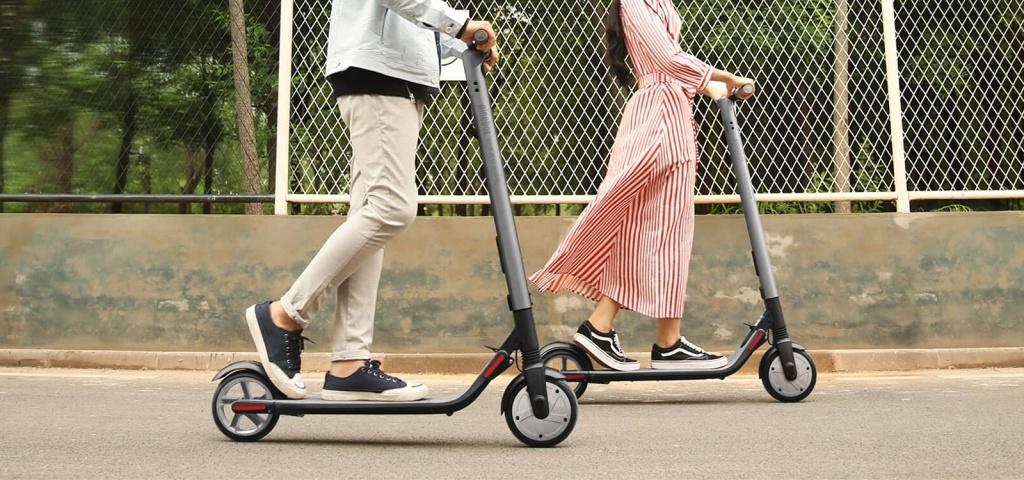 Ninebot by Segway KickScooter Es2 – электросамокат с запасом хода 25 километров и максимальной скоростью 25 километров в час