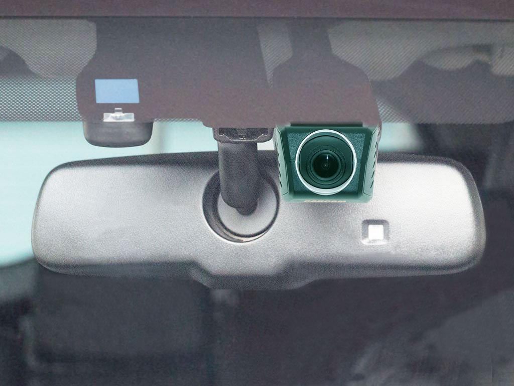 Штатный автомобильный видеорегистратор CARCAM U4-HD - Скрытая установка