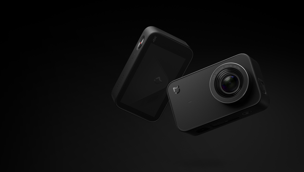 XIAOMI MiJia 4K Action Camera Black - компактная экшн-камера