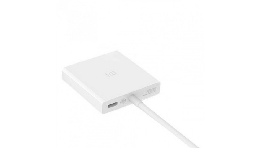 Адаптер-Хаб Xiaomi Mi USB-C to HDMI and Gigabit Ethernet Multi-Adapter - White