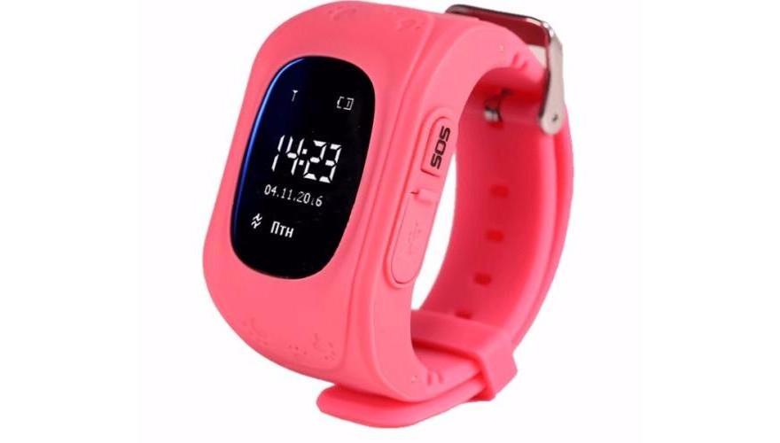 Smart Baby Watch КАРКАМ Q50 OLED розовые Для отслеживания местонахождения