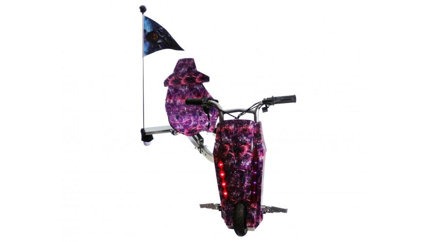 КАРКАМ Power Rider Электроскутер на трех колесах для экстремальной езды с заносами.