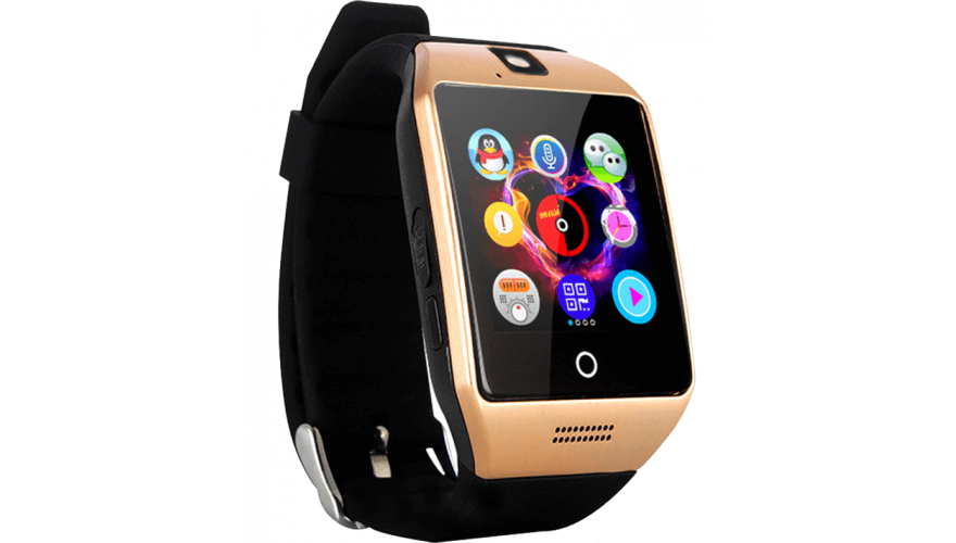 Часы CARCAM SMART WATCH Q18 Gold