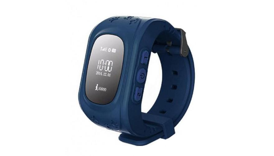 Smart Baby Watch КАРКАМ Q50 OLED синие Для отслеживания местонахождения