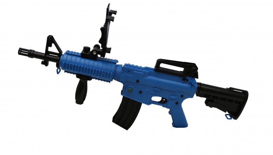 Автомат дополненной реальности Intelligent ar gun AR47-1 Blue