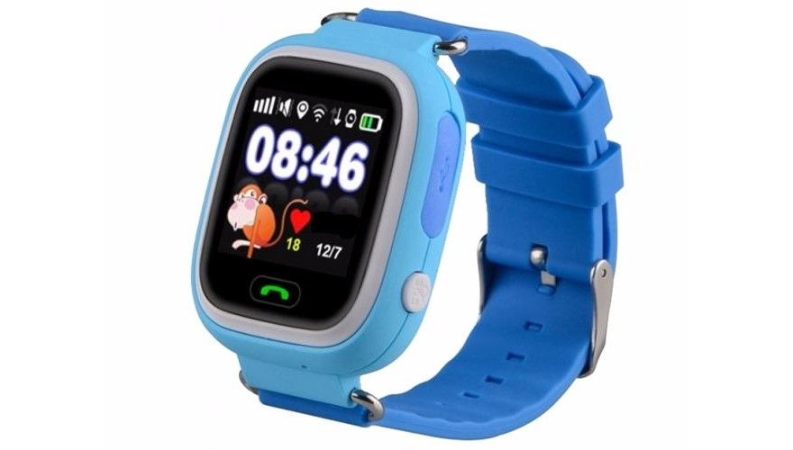 Smart Baby Watch CARCAM Q80 голубые