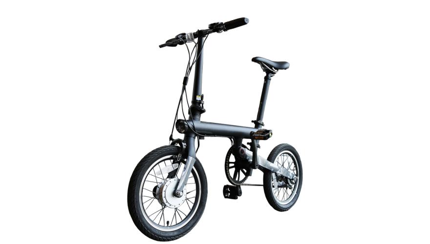 Xiaomi QiCycle черный Электровелосипед с максимальной скоростью 25 км/ч