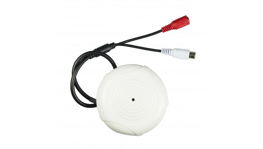 KAPKAM MK-85  Чувствительный микрофон с регулировкой уровня для систем видеонаблюдения и охраны