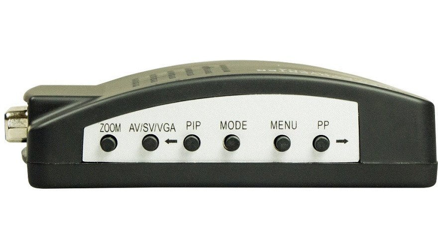 Конвертор BNC-VGA Каркам Преобразует сигнал устройств ввода в подходящий для воспроизведения на мониторах формат