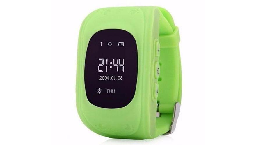 Smart Baby Watch КАРКАМ Q50 OLED зеленые Для отслеживания местонахождения