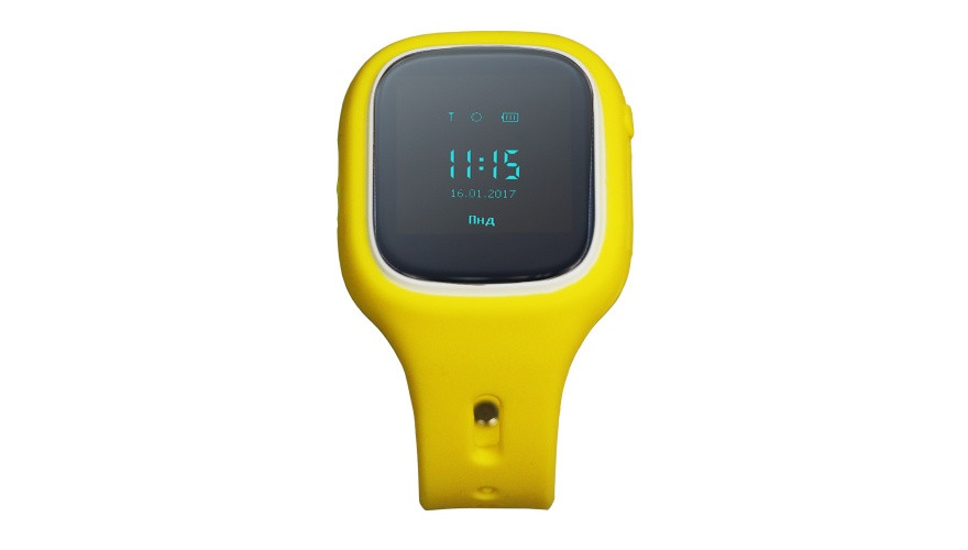 КАРКАМ KIKO (желтые) Детские смарт часы с функцией телефона, GPS-трекера и фитнес браслета
