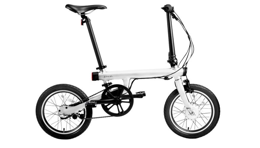 Xiaomi QiCycle белый Электровелосипед с максимальной скоростью 25 км/ч