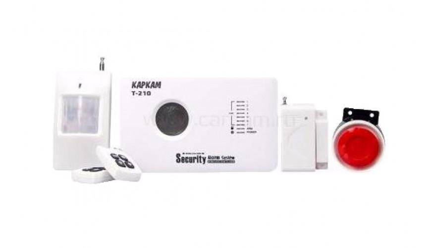 КАРКАМ Т-210 Эргономичная охранная GSM сигнализация с обширным спектром применения