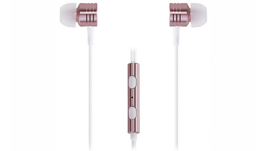 Наушники Xiaomi 1MORE Piston Classic rose gold