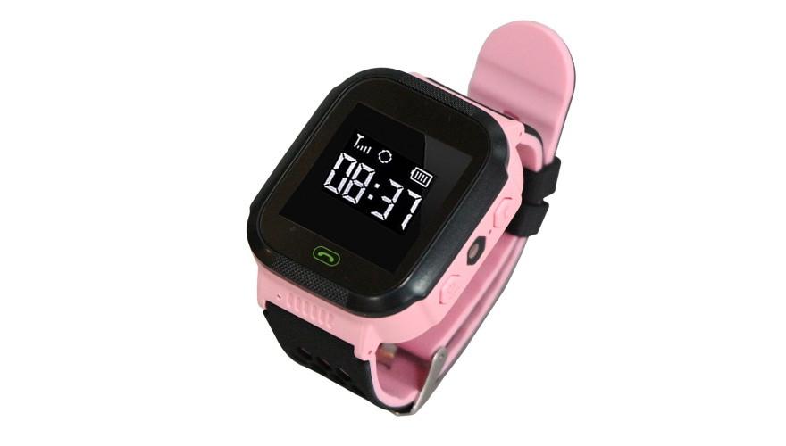 КАРКАМ GW500S (розовые) Детские смарт часы с функцией телефона и GPS-трекера