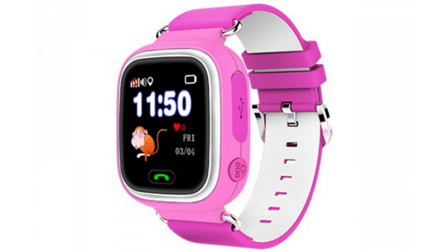 Smart Baby Watch CARCAM Q80 розовые
