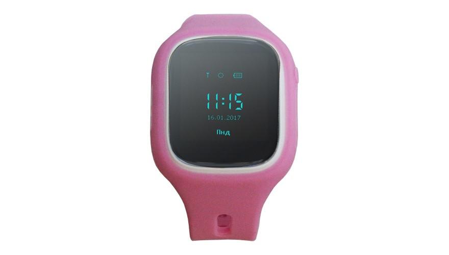КАРКАМ KIKO (розовые) Детские смарт часы с функцией телефона, GPS-трекера и фитнес браслета