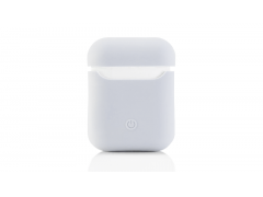 Чехол Airpods Silicon Case - белый