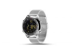 CARCAM SMART WATCH EX18 - SILVER