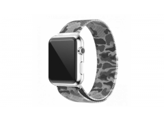 Ремешок для Apple watch 42mm Milanese Loop хаки