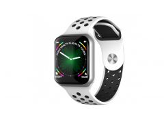 CARCAM SMART WATCH F8 - Silver/White
