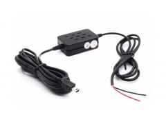 Провод питания для скрытой установки «mini USB» Длина 3 метра; 12V-5V; 2A.