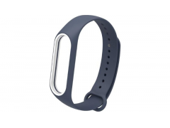 Ремешок для Mi Band 3/4 Silicon Loop синий