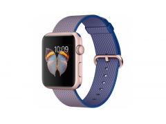 Ремешок для Apple watch 42mm Woven Nylon синий